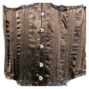 Lace up Waist Trainer Corset: Size Small